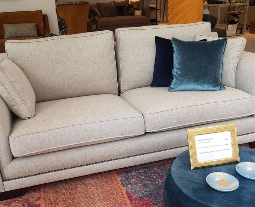 Sofa Brazo redondo